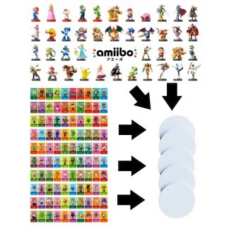 NFC Coin to Copy / Backup your Amiibo